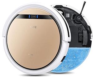 ILIFE V5s Pro Robotic Vacuum Cleaner - Best Robot Vacuum Under $200