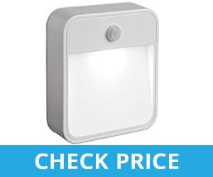 Battery Powered Motion Sensing White LED - light for front door key