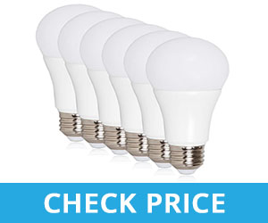 Maxxima 10 Watts LED 2700K Warm White Light Bulb - best led lighting for applying makeup