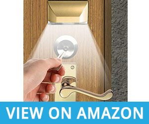 UPDD LED Intelligent Keyhole Light Lamp For Door Lock