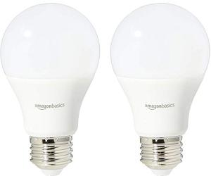 Amazon 75 Watt Non-Dimmable A19 LED Light Bulb - best led light bulbs for bathroom