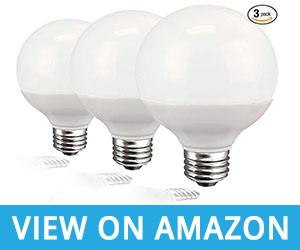Decorative Globe Vanity Light Bulbs For Bathroom