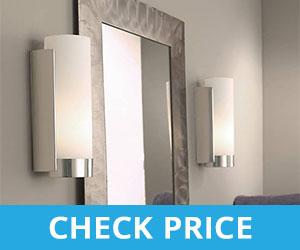 Flank the Bathroom Mirror With Lights - Light Bulbs for Bathroom Mirror