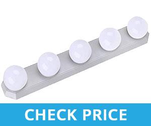 Portable Mirror Lights Vanity Table - Light bulbs for bathroom mirror