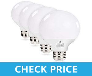 Hansang G25 5W LED Vanity Light Bulb - light bulbs for bathroom mirror