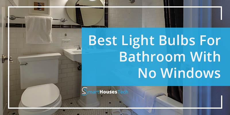 best light bulbs for bathroom with no windows - SmartHousesTech