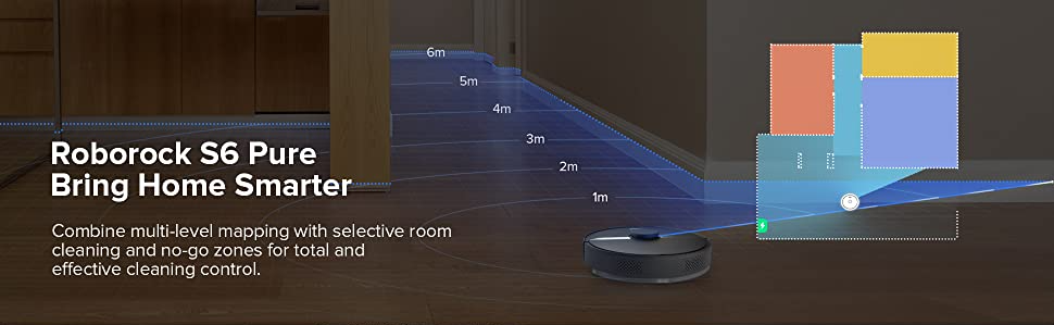 Roborock S6 Pure Robot Vacuum Advanced Mapping Technology Review