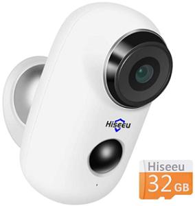 Hiseeu C10 battery powered wifi camera Camera