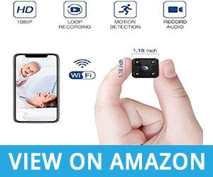 FREDI Hidden Mini Camera - spy camera with audio