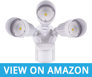 2 -JJC Outdoor Motion Enabled LED Security Lights Review
