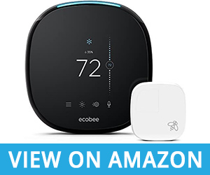 ECOBEE4 Alexa Compatible Smart Thermostat Review