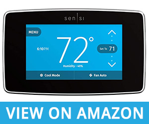 6 - Emerson Sensi Touch Wi-Fi Smart Thermostat Review