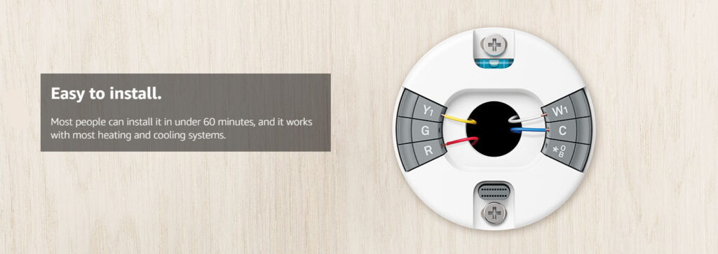 Google Nest E Programmable Smart Wifi Thermostat Installation Review