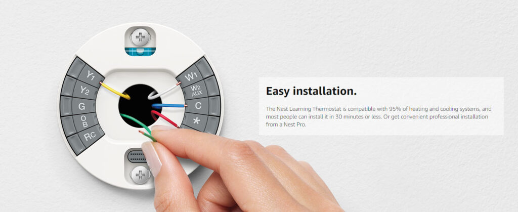 Google T3007ES Nest Thermostat Installation Review