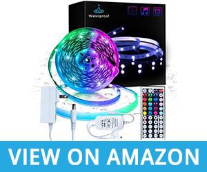 Inscrok Waterproof RGB LED Strip Light Review