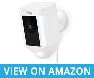 Ring Motion Enabled Wired Spotlight Cam