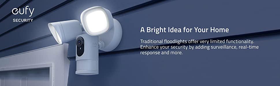EUFY Outdoor Security Floodlight Camera Design