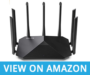 7 - Speedefy AC2100 Smart WiFi Router – Dual Band Router