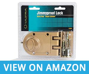 2. Heavy Duty Jimmy Proof Deadbolt Door Lock