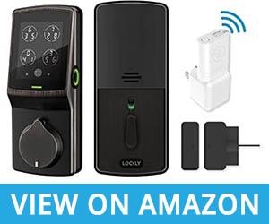 Lockly Secure Pro – Bluetooth Fingerprint Smart Door Lock