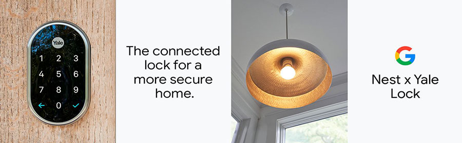 Google Nest x Yale Lock – Tamper-Proof Smart Lock