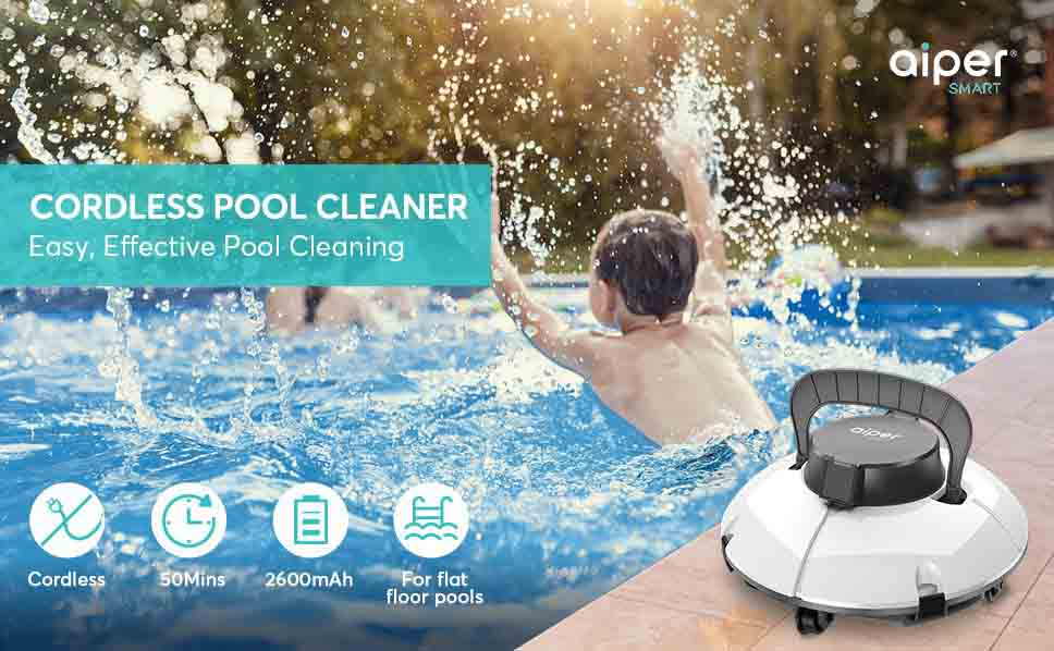 AIPER SMART Cordless Automatic Pool Cleaner Review