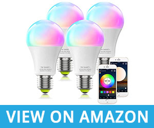 A19 RGBCW Multicolor Dimmable White UL Certified LED WiFi Bulb