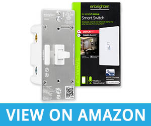 Enbrighten Z-Wave Smart Toggle Light Switch with QuickFit