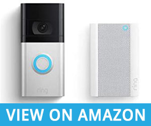 Ring Video Doorbell 4 (2021 release) with Ring Chime Pro