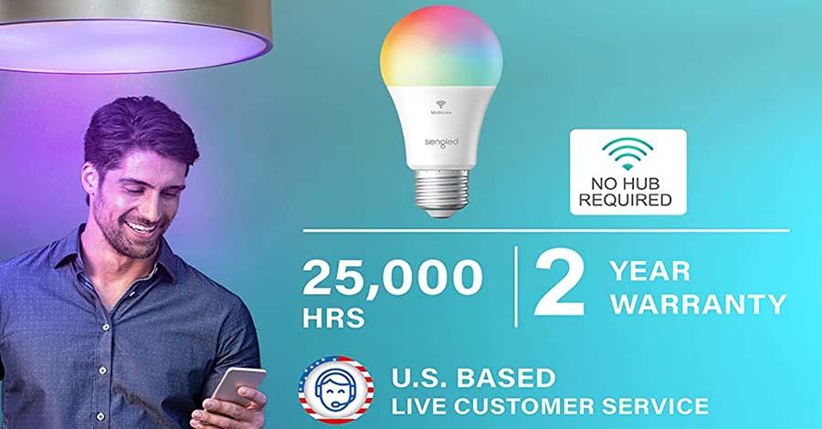 Sengled Smart Light Bulbs Color Changing Light Bulb