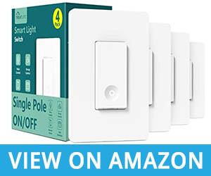 Smart Treatlife 2.4Ghz Smart Single-Pole WiFi Light Switch