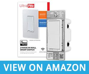 UltraPro Z-Wave Plus In-Wall Smart Light Switch