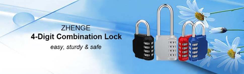 ZHEGE Lock 4 Digit Combination Padlock Details