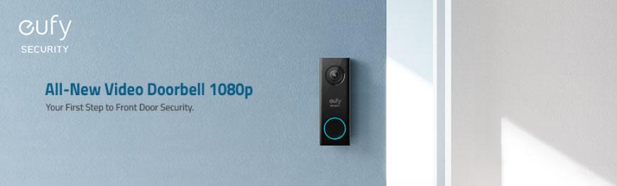 eufy Security Wi-Fi Video Doorbell HD 1080p-Grade